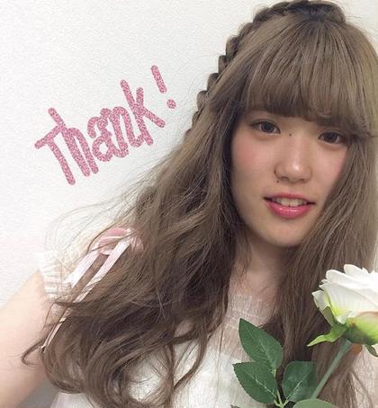 おでかけアレンジ♡ 大貫瑠華のヘアアレンジ