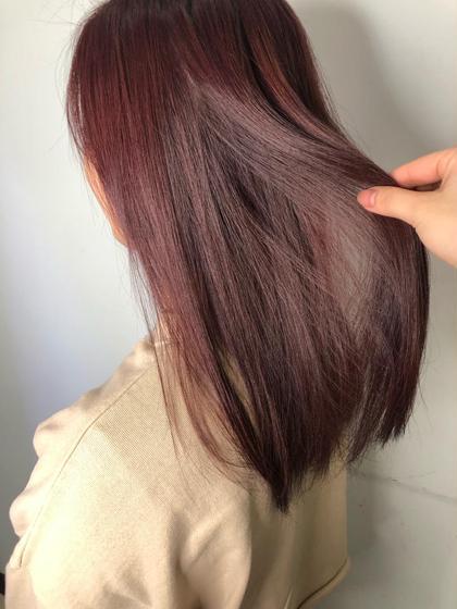 🌼髪質改善トリートメント × ワンカラー