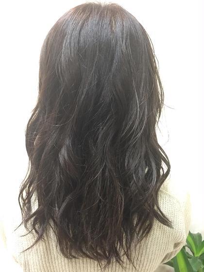 赤みをしっかり抑えたモードマットネイビー♪ CIEL Hair Salon所属・平塚大貴のスタイル