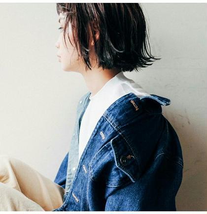 前髪カット+スタイリング+今後のヘアプラン相談