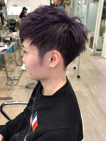 店長 奥山太のメンズヘアスタイル・髪型