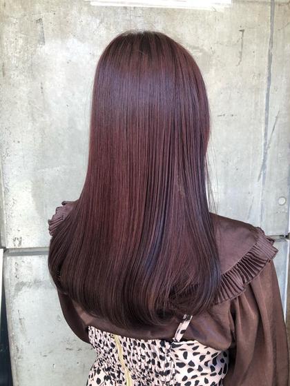 🦋髪質改善トリートメント&ワンカラー🦋