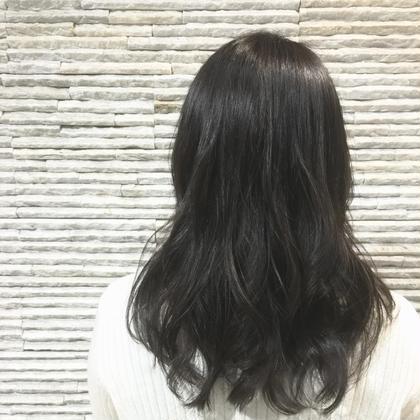 【話題のイルミナカラー】小顔カット&イルミナカラー&コラーゲントリートメント