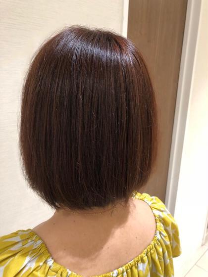 ✨赤系ブラウンカラー✨  暗すぎず明るすぎずでも、ブラウンよりは 色味が欲しい人にはオススメです!!  派手すぎず綺麗な大人の赤髪です^_^ Ash大泉学園所属・横山直輝のスタイル