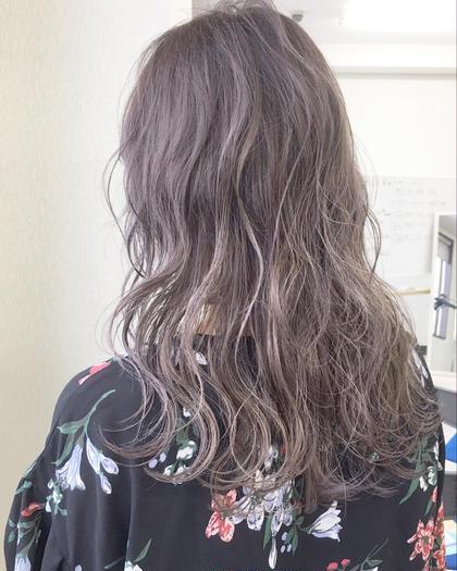 #アオハル【人気No.1】💐KAJIYA☆オススメオリジナルカラー+カット+髪質に合わせて選べるトリートメント💐