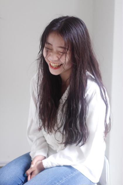 💍透明感、艶髪、韓国💍  オルチャンカラー + 色持ちトリートメント