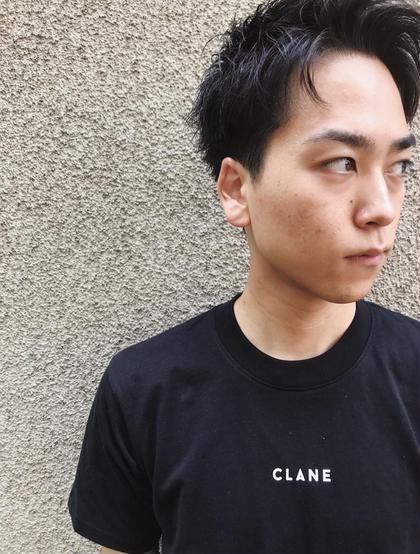 ナカムラコウキのメンズヘアスタイル・髪型
