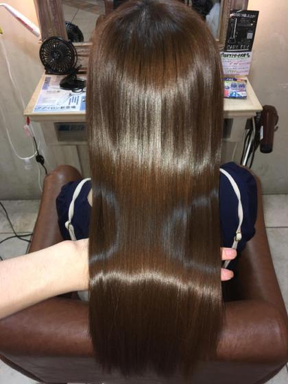『髪質改善トリートメント』 髪の傷みがひどい人ほど綺麗になります✔︎  是非体感してください!
