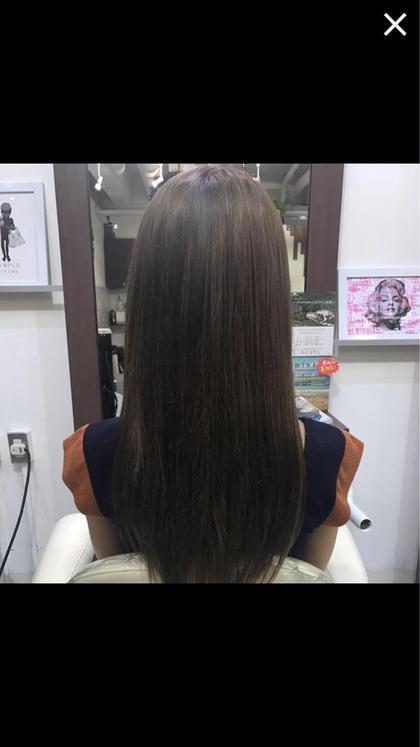 アッシュベージュ bauhaus hair所属・小沼優太のスタイル