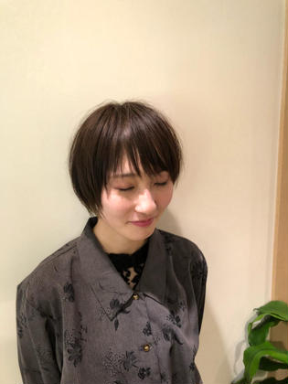 ショートボブ EMUinternational所属・常角友野のスタイル