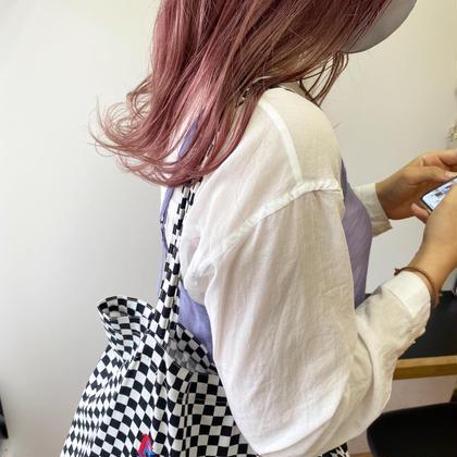 ✨憧れのハイトーンへ✨カット+(クエン酸処理付)ケアブリーチ+カラー+5ステップ髪質改善トリートメント+ホームケア付き