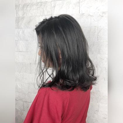 ✨就活期間もオシャレに過ごす✨オシャ黒髪カラー✨アドミオorイルミナカラー使用