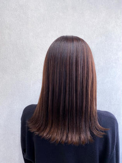 🍀平日限定🍀冬髪に変身🙋♀️カット+オーガニックフルカラー+アロマスパ15分