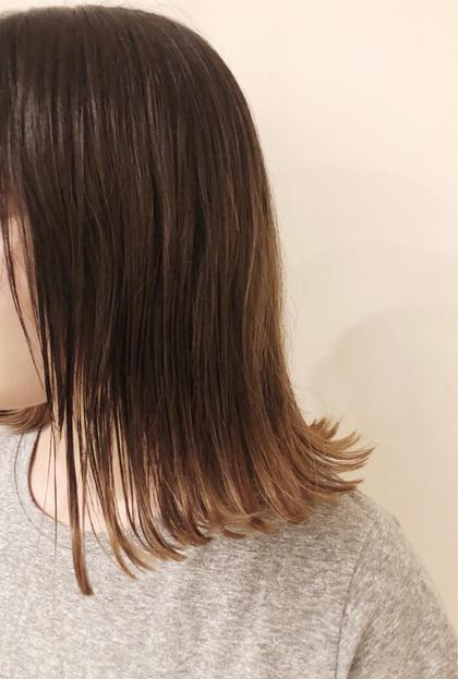 【オススメ】裾カラー++イルミナorアディクシーカラー+3STEPトリートメント