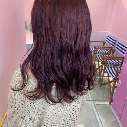 💜💎当日予約限定💎💜{ブリーチ無料}ブリーチ+カラー+2step艶髪トリートメント⚡️⚡️
