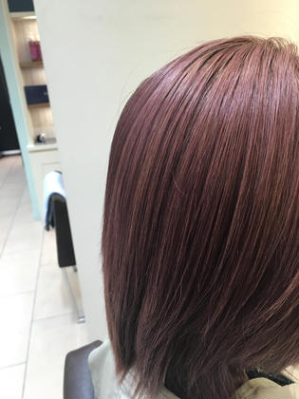 ピンクベージュ  organic hair salon byEQ所属・岡田憲紀のスタイル