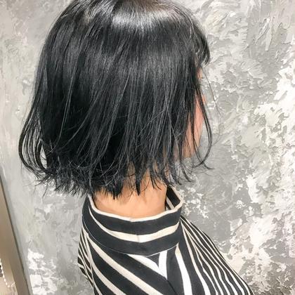 カラー ショート 赤み抹消ダークグレージュ★