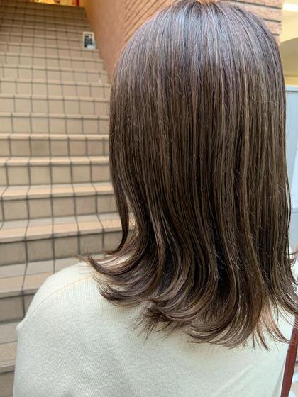 前髪カット トリートメント