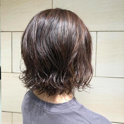🕊【コテ巻き風レディースパーマ】+カット¥11000→¥5500