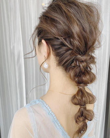 ゆるふわセット♡お出かけ✨二次会や結婚式にも✨お洋服や雰囲気に合わせたお任せも可能です♡
