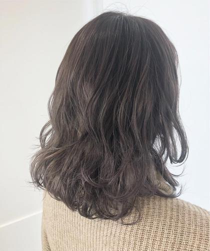 【朝が楽チン✨】前髪パーマ(追加menu)デジタル変更あり