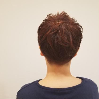 長岡琴子のショートのヘアスタイル