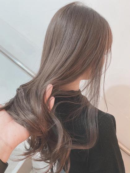♡極潤み髪♡選べる5ステップトリートメント+大人気ILUMINAカラー✨
