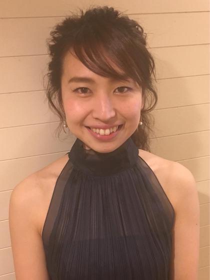 大人可愛いポニーテールアレンジです☆ morio from london 大宮2号店所属・細矢茉里子のスタイル