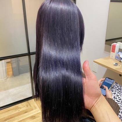 【大人気🌟】カラー+髪質改善トリートメント