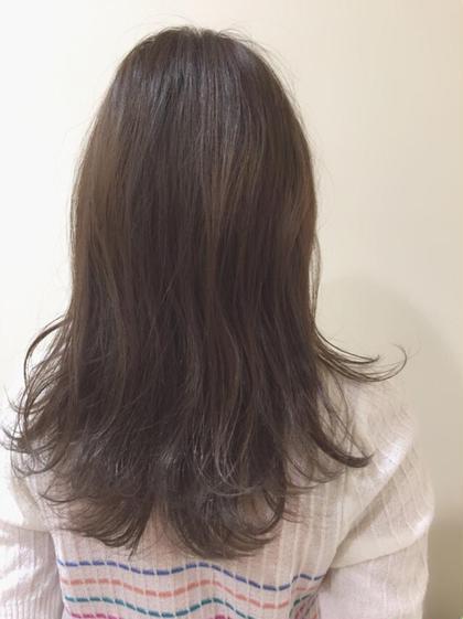 透け感グレージュ Neolive  JuQ所属・澤優希のスタイル