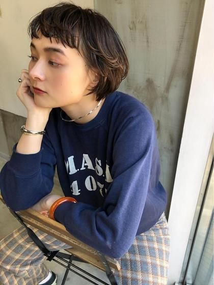 前髪Cut + treatment