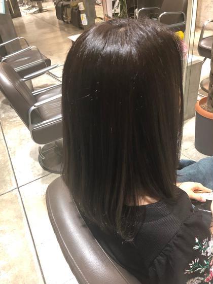 (🍀いつまでも綺麗なhairへ☘️)白髪染め +カット+ブロー+マッサージ付き