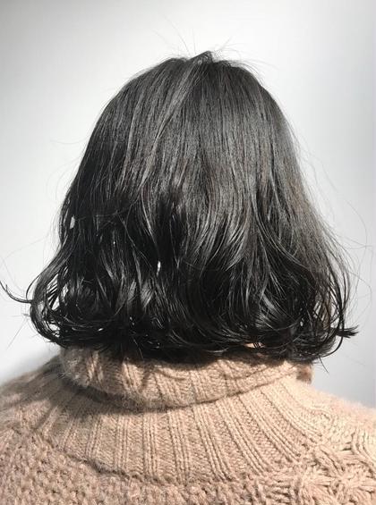 ボブラインパーマ aura野田阪神店所属・村田朱のスタイル