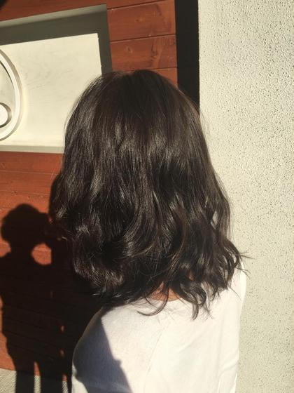 ✨デザインカット+フェミニンパーマ+リラクゼーションスパ+髪質改善トリートメント