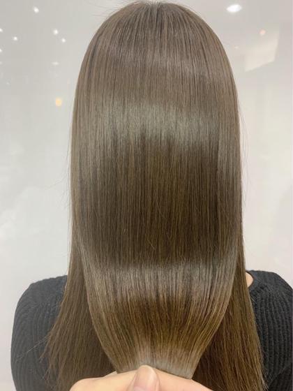 💙【6月限定!!】💙カラー+髪質改善トリートメント❤︎glass hair treatment🌟🌟