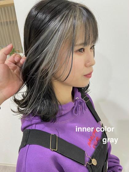 🦋全体カラー+インナーカラー🦋