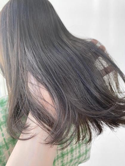 【叶える艶髪♡】🤎髪質改善サイエンスアクアinイルミナカラー+超音波アイロンtokioトリートメント🤍