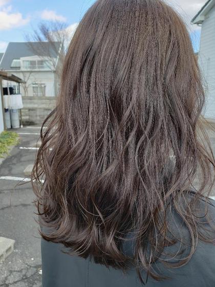 ♡人気メニュー♡カラー+カット+システムトリートメント