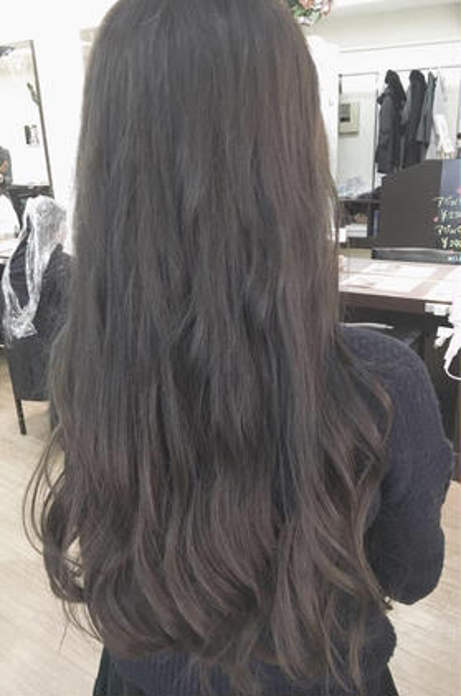 ⭐️大好評⭐️スロウカラー※15分ヘッドスパ&髪質改善トリートメント