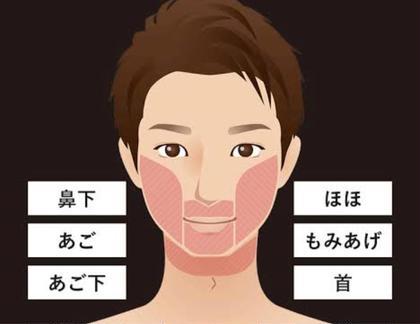 🉐【メンズお試し脱毛】顔のお好きな箇所1箇所どこでも¥1000 脱毛初体験の方大歓迎🙌🏻