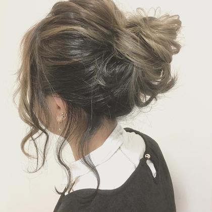 簡単なヘアアレンジ