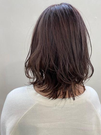 【カラーして気分変えたい方🌿】ワンカラー+髪質に合ったトリートメント付💇🏻♀️