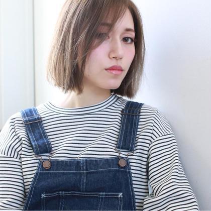 パッツンボブ hair&make JOJI所属・寺西亮のスタイル