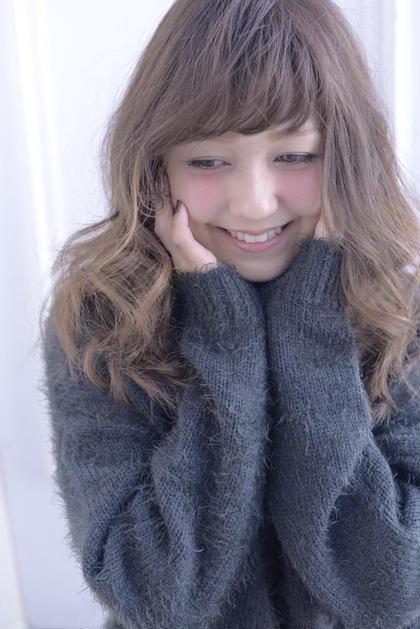 ポイントで細かいハイライト☆ 冬のファッションでもまだまだいけます!! AVANCE鉄砲町所属・木田祐希のスタイル
