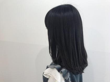本来の髪が持っている綺麗な艶感を生かすためにまとまり良く、髪がより綺麗に見えるようなカットにしました✨✨ 手触りもかなりサラサラで是非みなさんに体感して欲しいほどです!! 毛先をワンカール内巻きにしてあげるだけで可愛くなれるのでアイロンを使ったりセットが苦手と感じている方でも簡単に出来ますよ✨