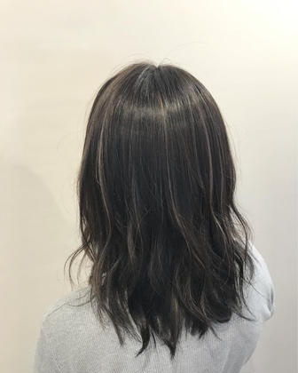 カラー ミディアム 極細ハイライト!!