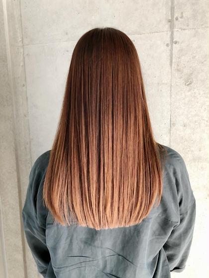 人気No.2 どんな髪でも生き返る!!髪質改善ダメージレスカラー⭐︎スロウカラー+髪質改善TOKIOトリートメント