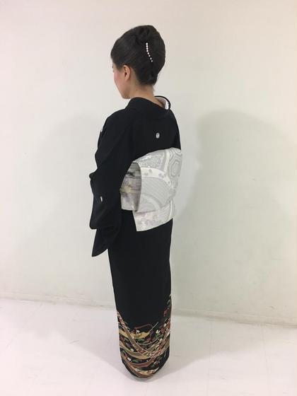 留袖・振袖・袴着付け💓(前日までに着物+小物類お持ち下さい)