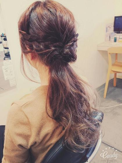 おでかけまえ hair circle geep所属・和田礼のスタイル
