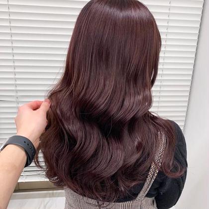 💗💗ダブルカラー+髪質改善トリートメント+簡単コテ巻き💗💗